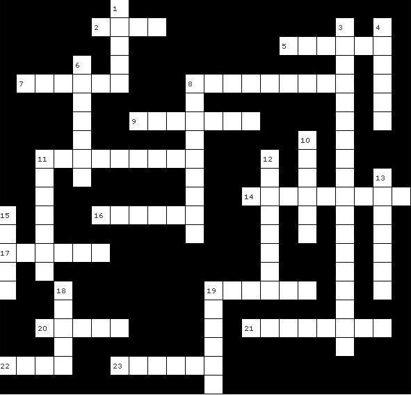 Banned Crossword Challenge