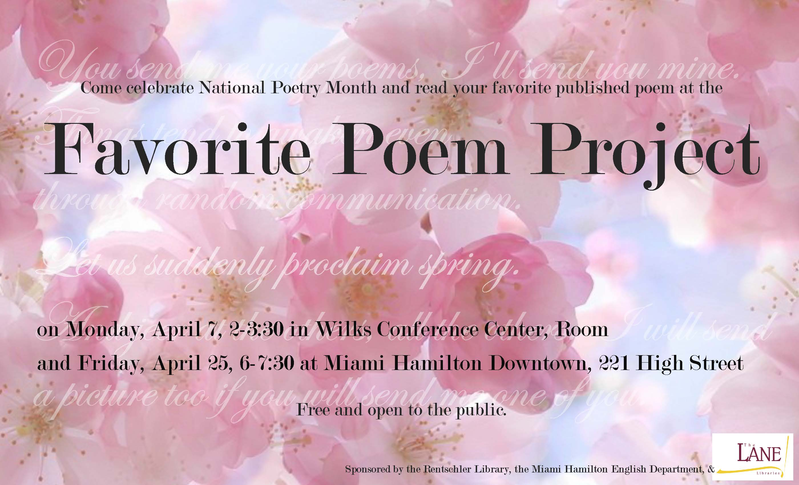 favorite poem project Mizzou favorite poems project featuring posts by alumni, faculty, and friends of the university of missouri department of english.