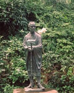Statue of Basho
