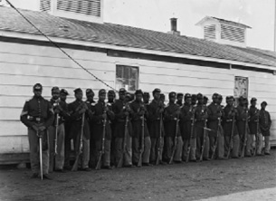 Civil war black soldiers