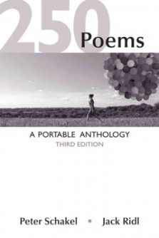 Book cover of 250 Poems anthology