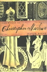 book cover Christopher marlowe