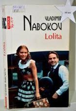 book cover image Lolita by Nabokov