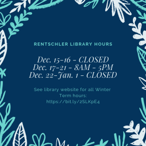 Library Hours graphic