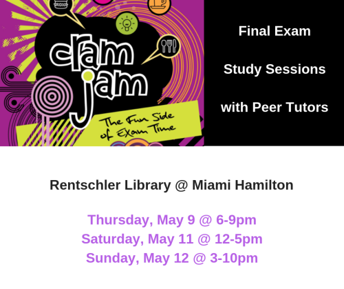 Cram Jam flyer